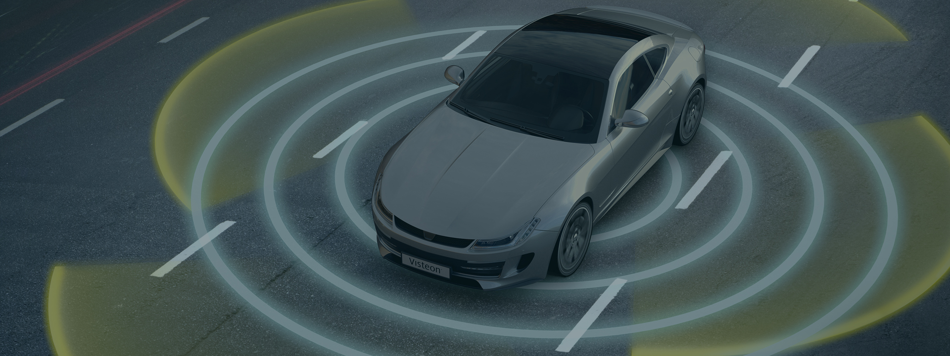 autonomous-car-model-sensing-surroundings-visteon