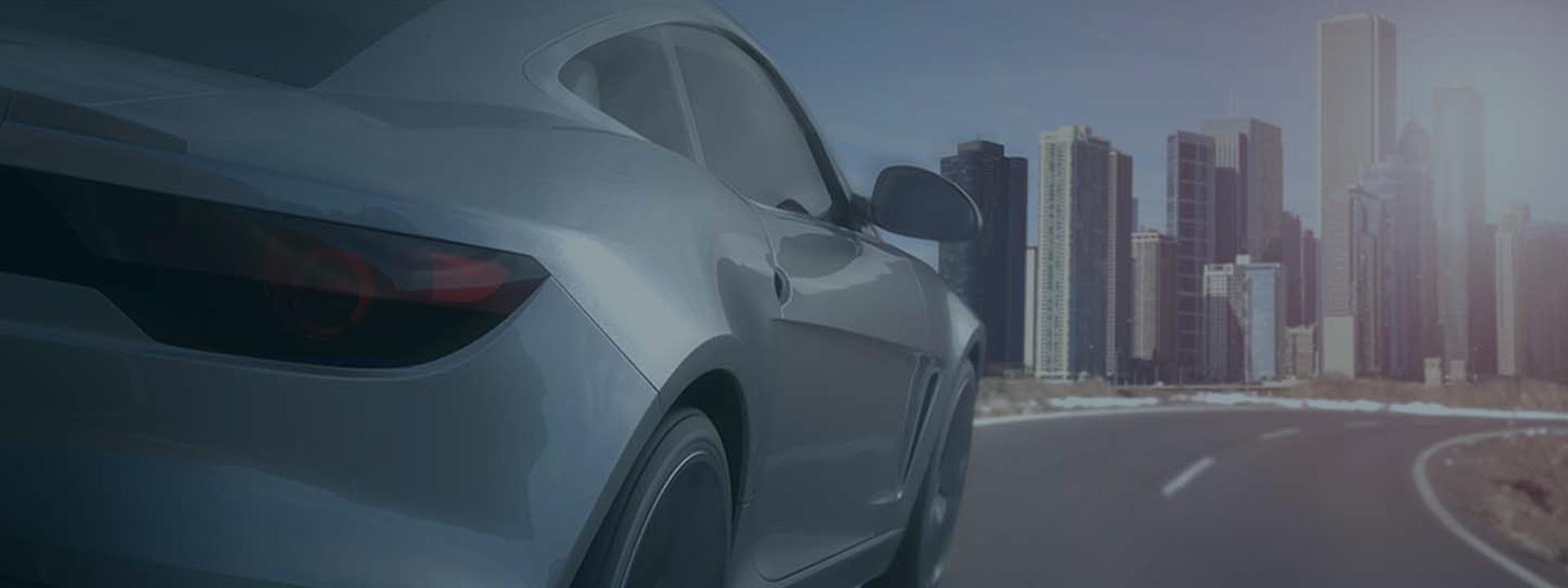 visteon-3d-model-car-driving-into-city